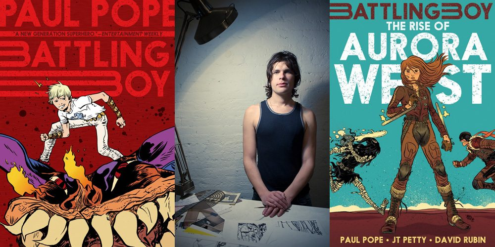Battling Boy, Paul Pope, The Rise of Aurora West