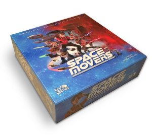 Space Movers Game Box