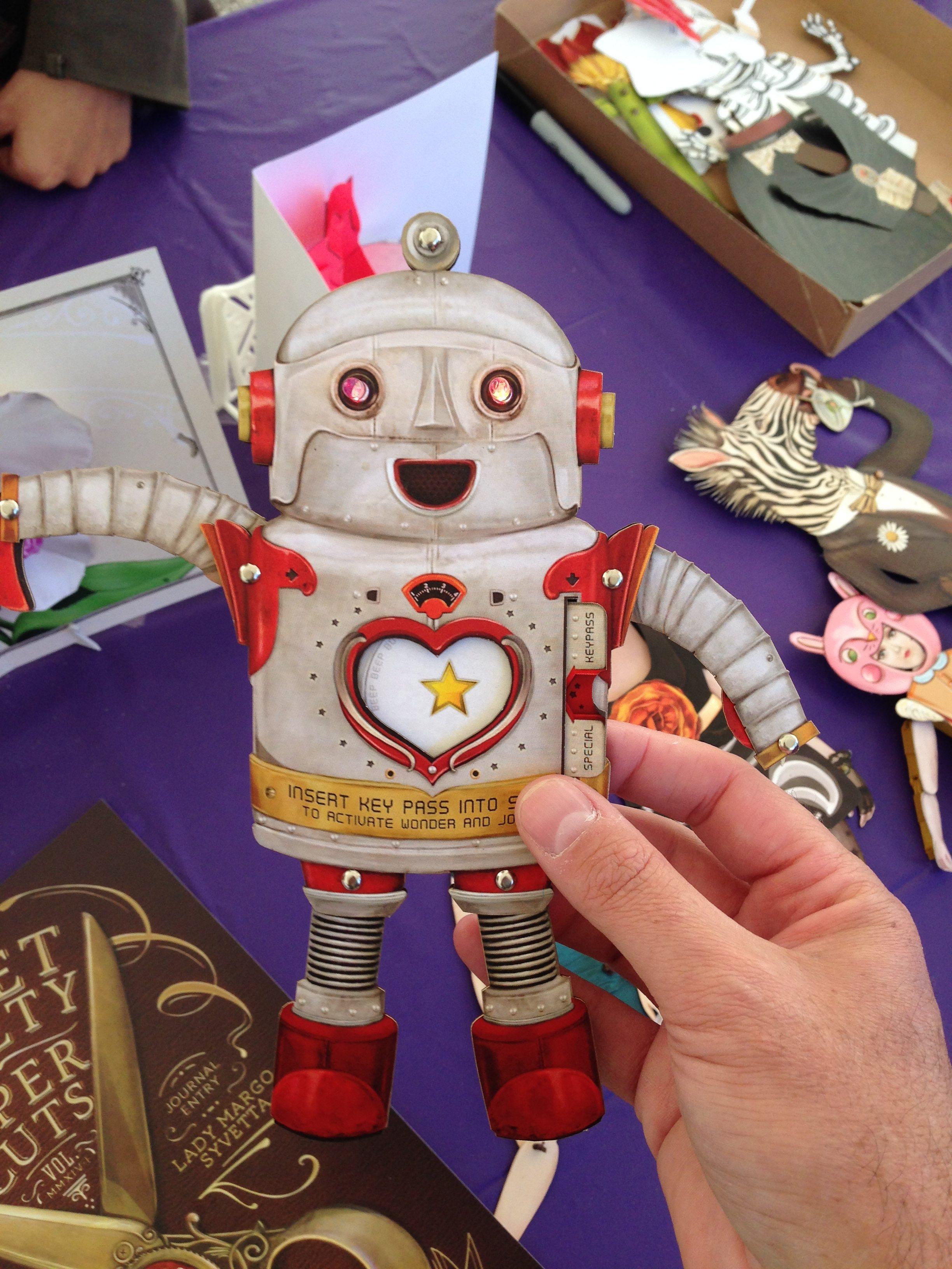 Paper Robot