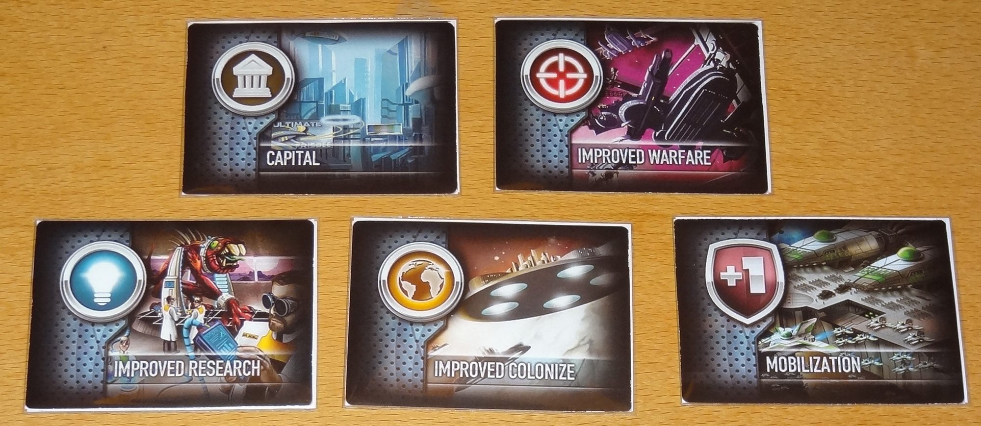 Eminent Domain Microcosm Technology cards