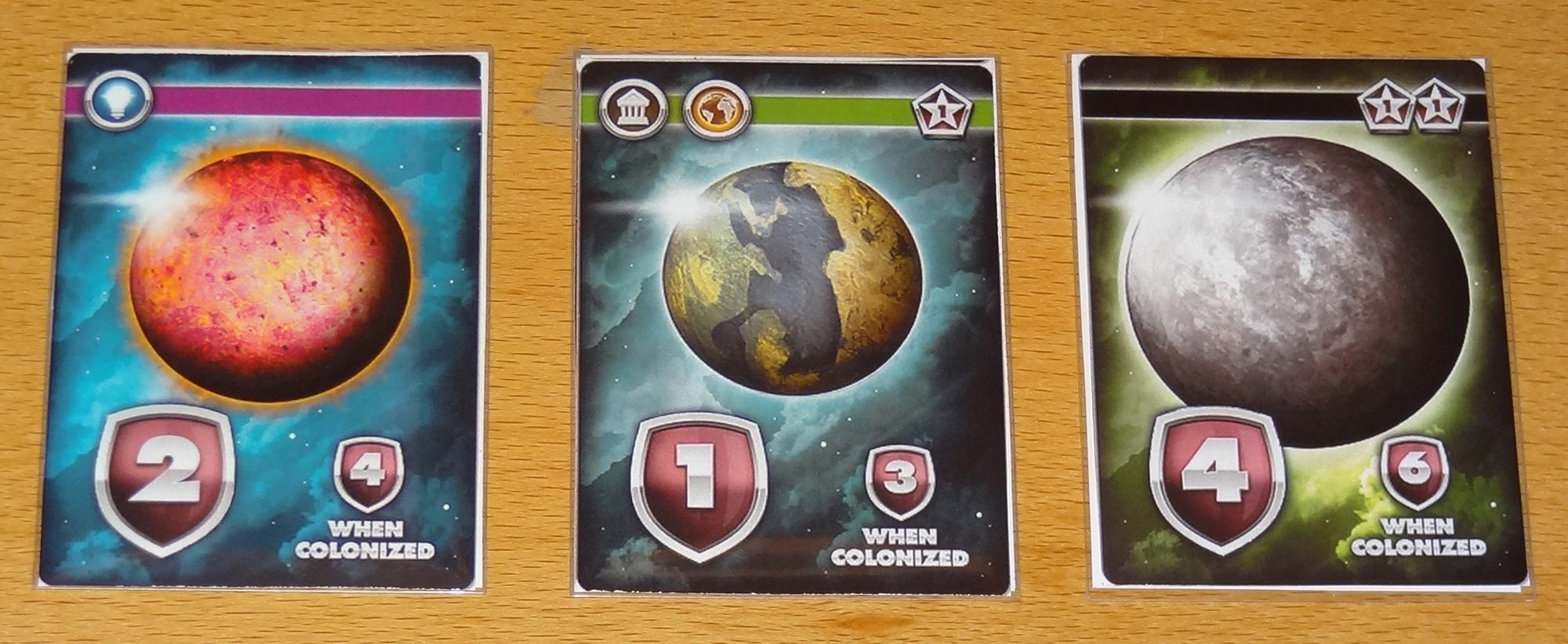Eminent Domain Microcosm Planet cards