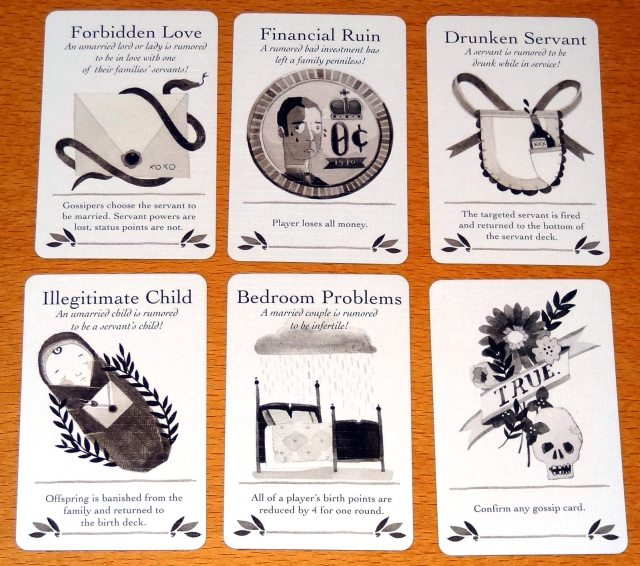 Lords & Ladies Gossip Cards