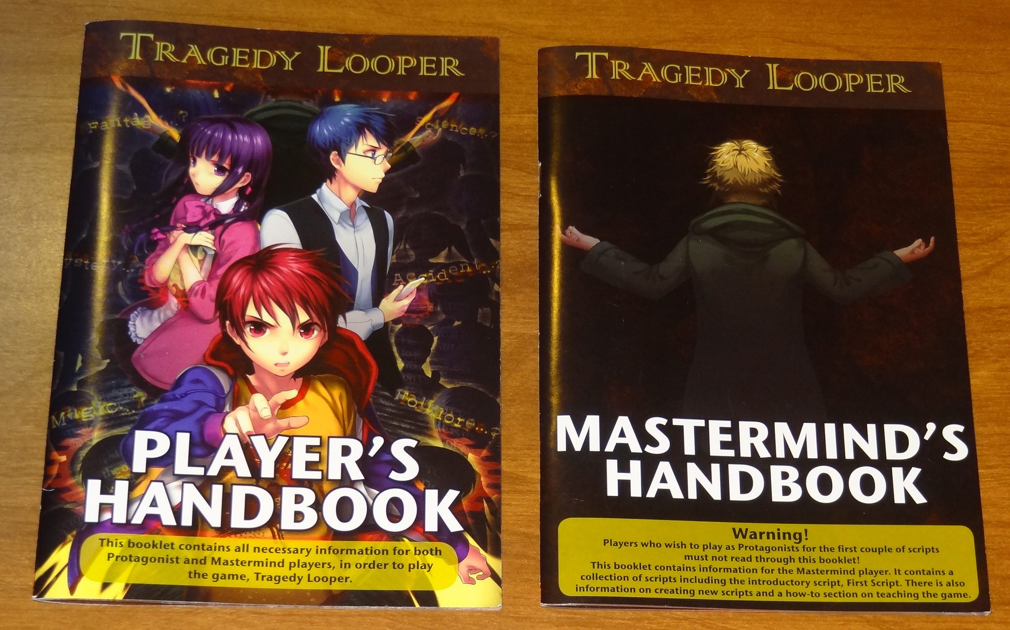 Tragedy Looper Manuals
