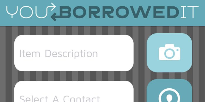 An App for Your Personal Library: You Borrowed It