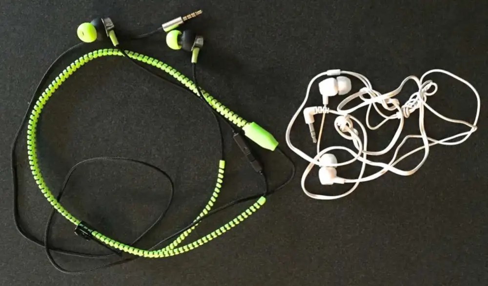 Zipbuds are tangle-free earbuds