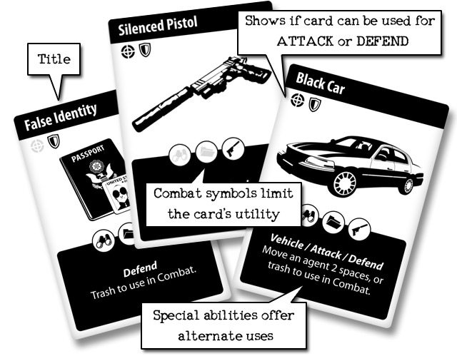 Web of Spies cards