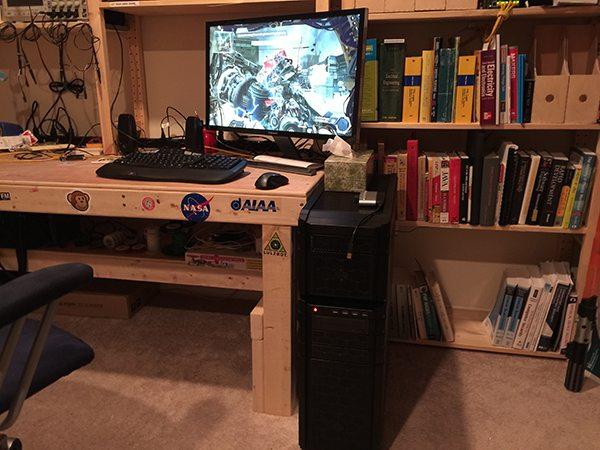 My new rig. (Image: Brian McLaughlin)