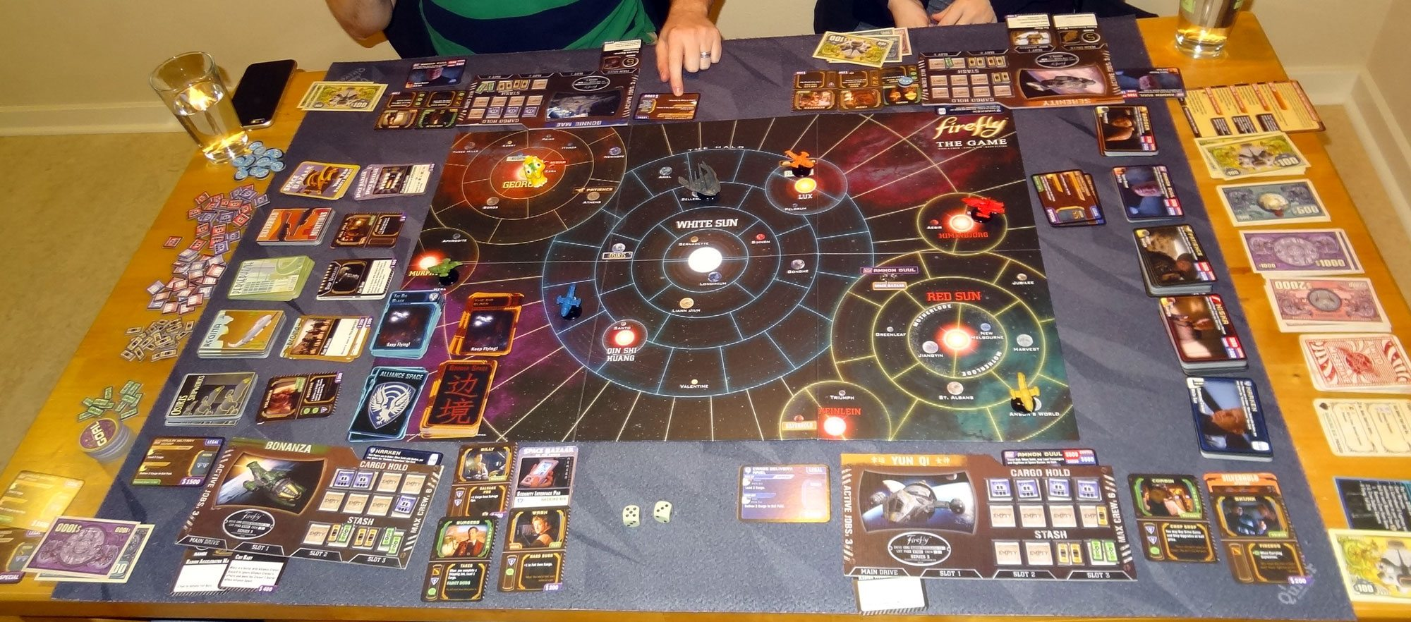 Firefly 4-player game