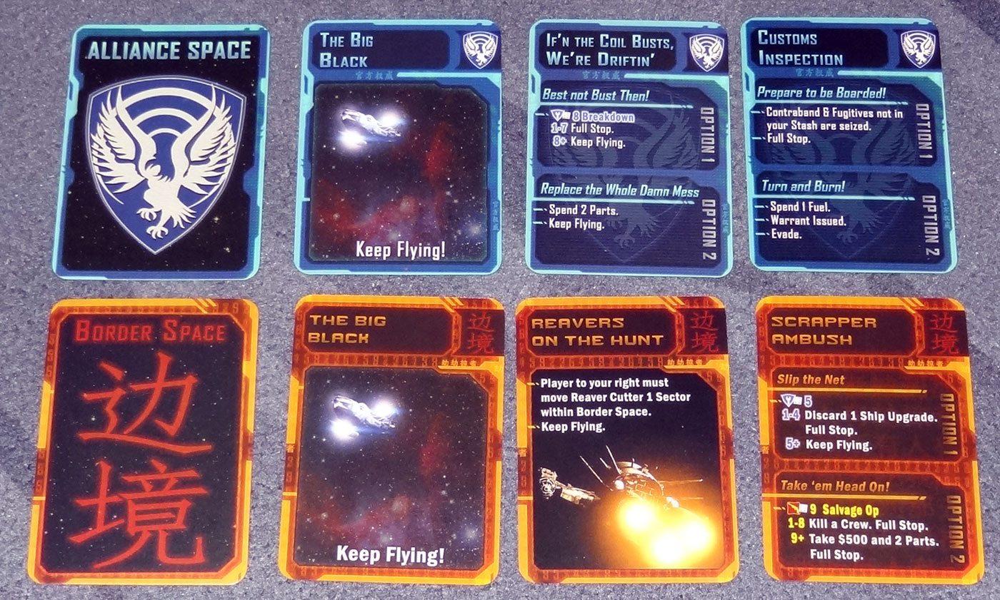 Firefly Nav cards