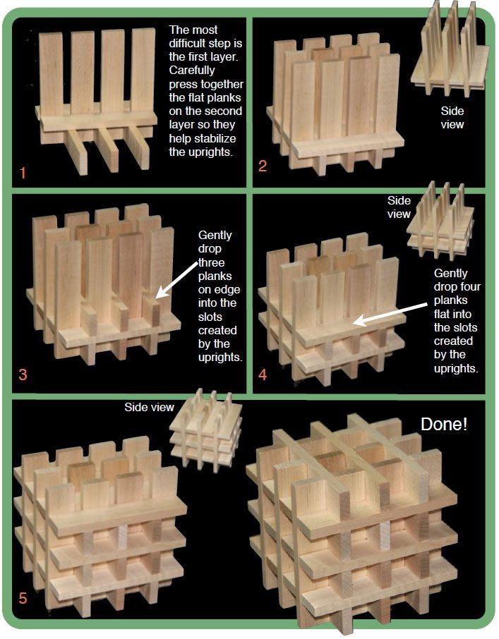 Keva Cube Instructions