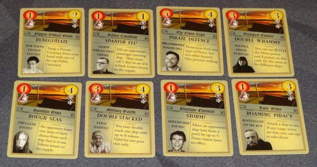 Manifest action cards
