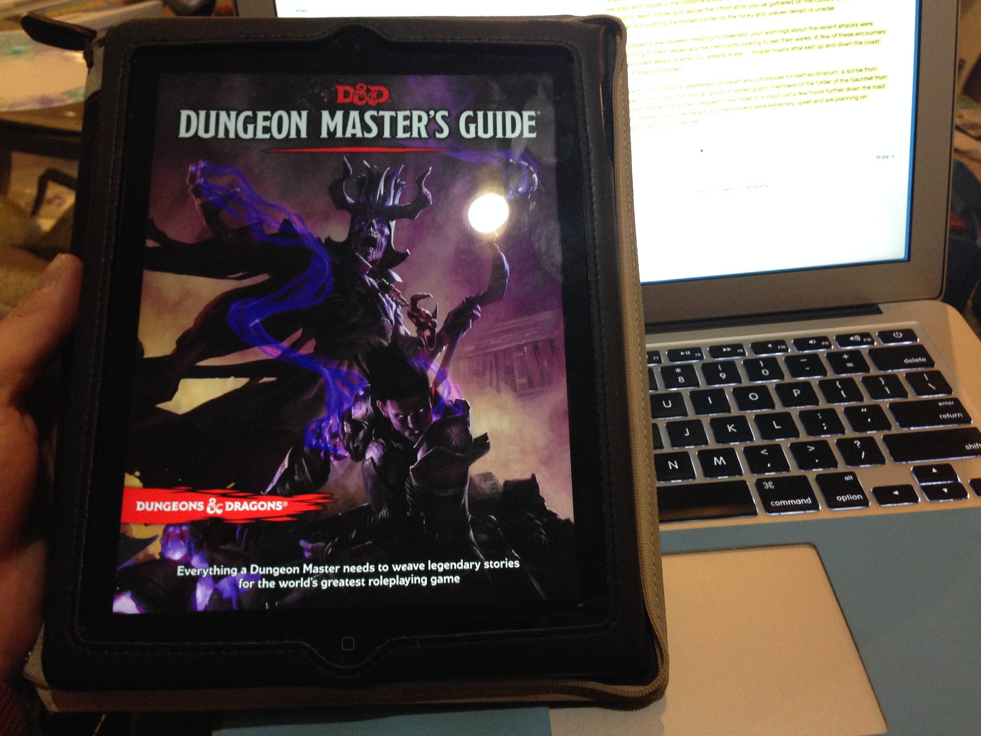 DMG on iPad