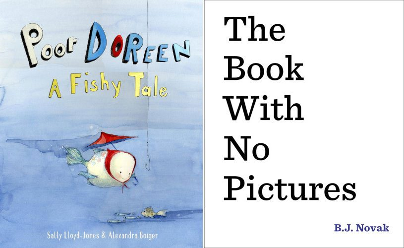 Poor Doreen, The Book With No Pictures