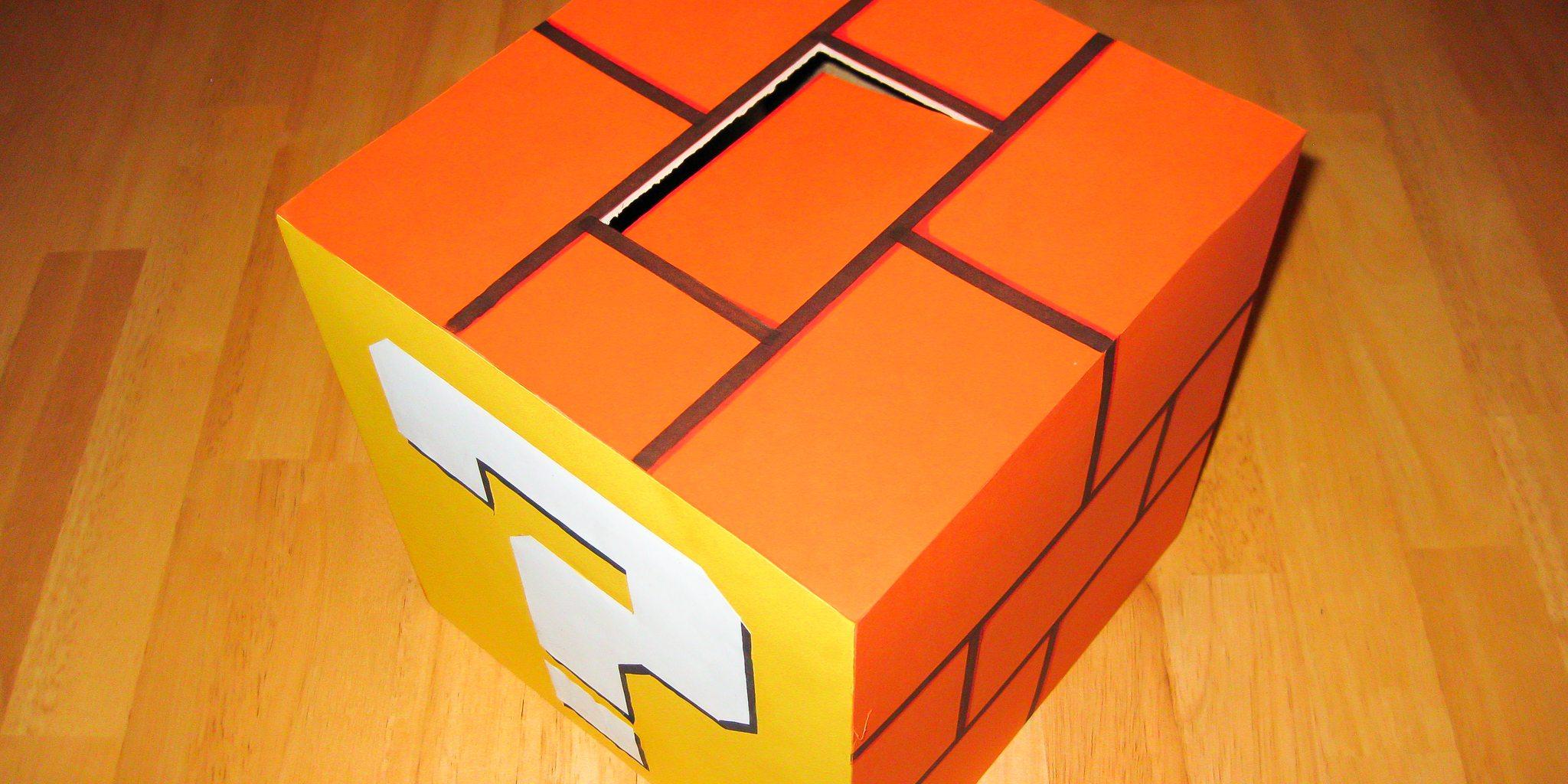 Mario Coin Block Valentine's Day Box