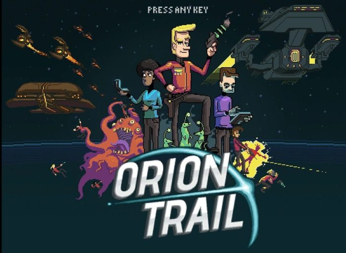 Title Screen for Orion Trial