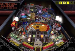 The Addams Family Pinball Table
