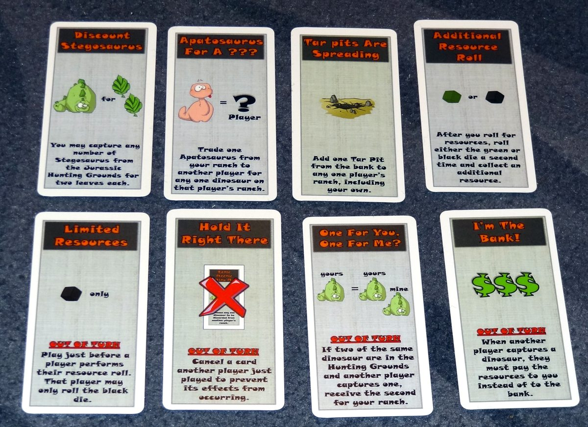 Dino Dude Ranch Cards