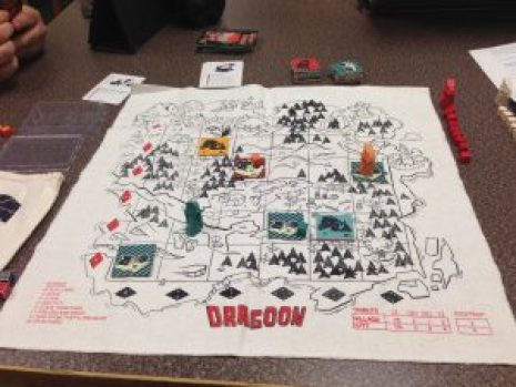 A game in progress.