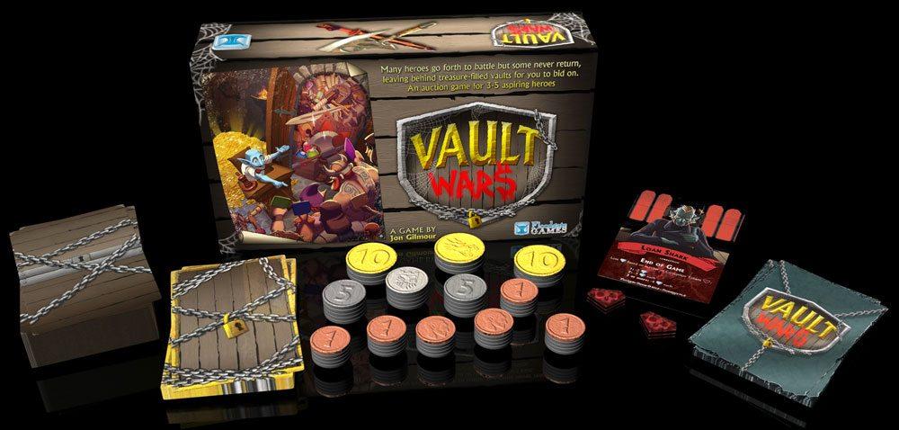 Vault Wars components
