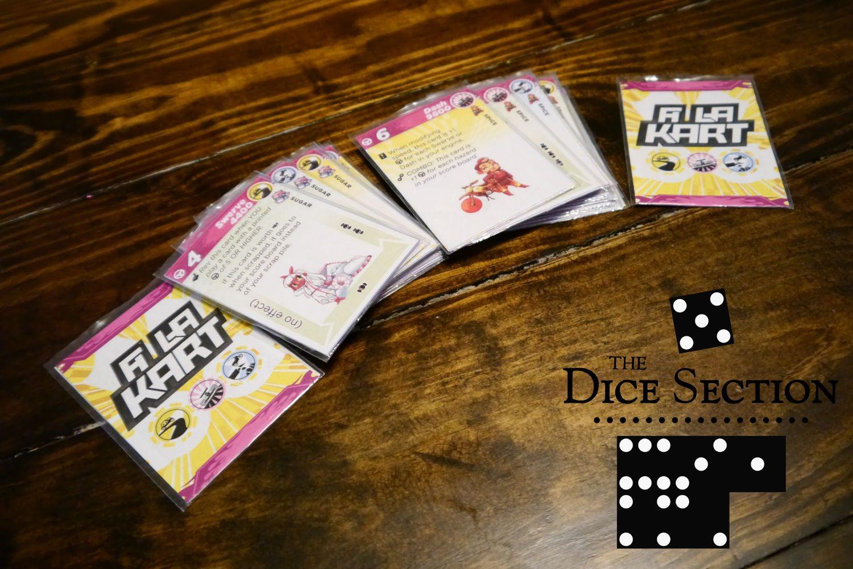The Dice Section: A La Kart by Daniel Solis