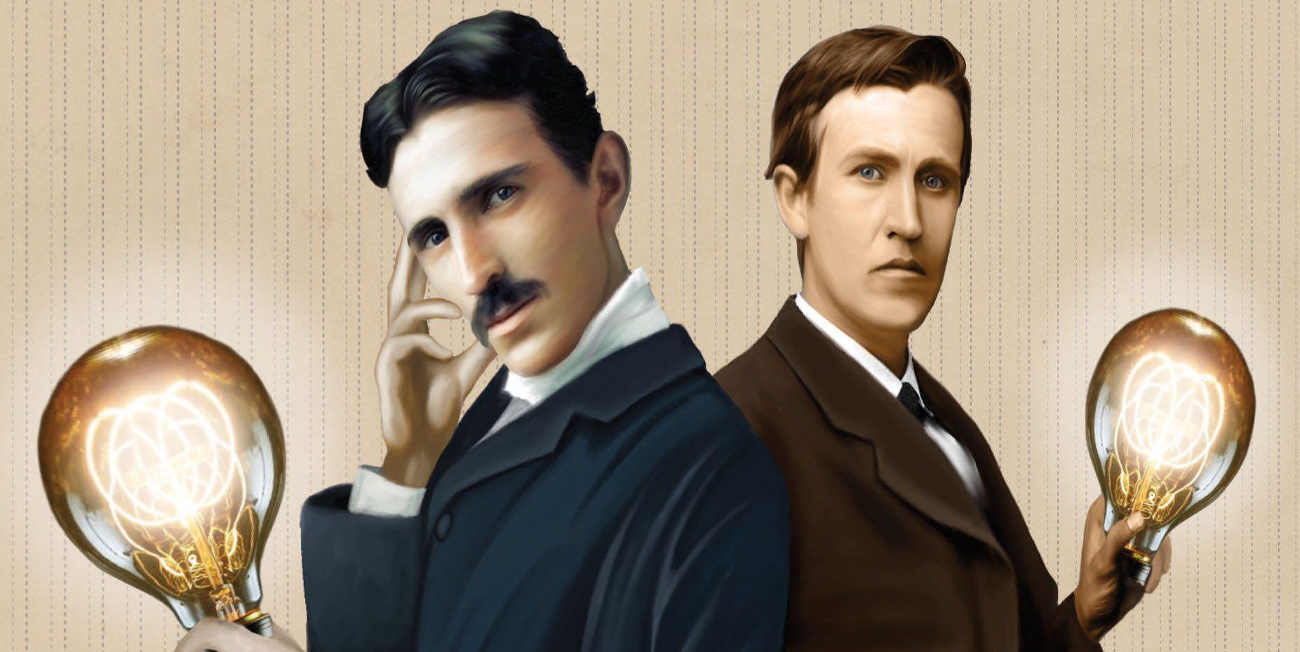 Kickstarter Tabletop Alert: 'Tesla vs. Edison'