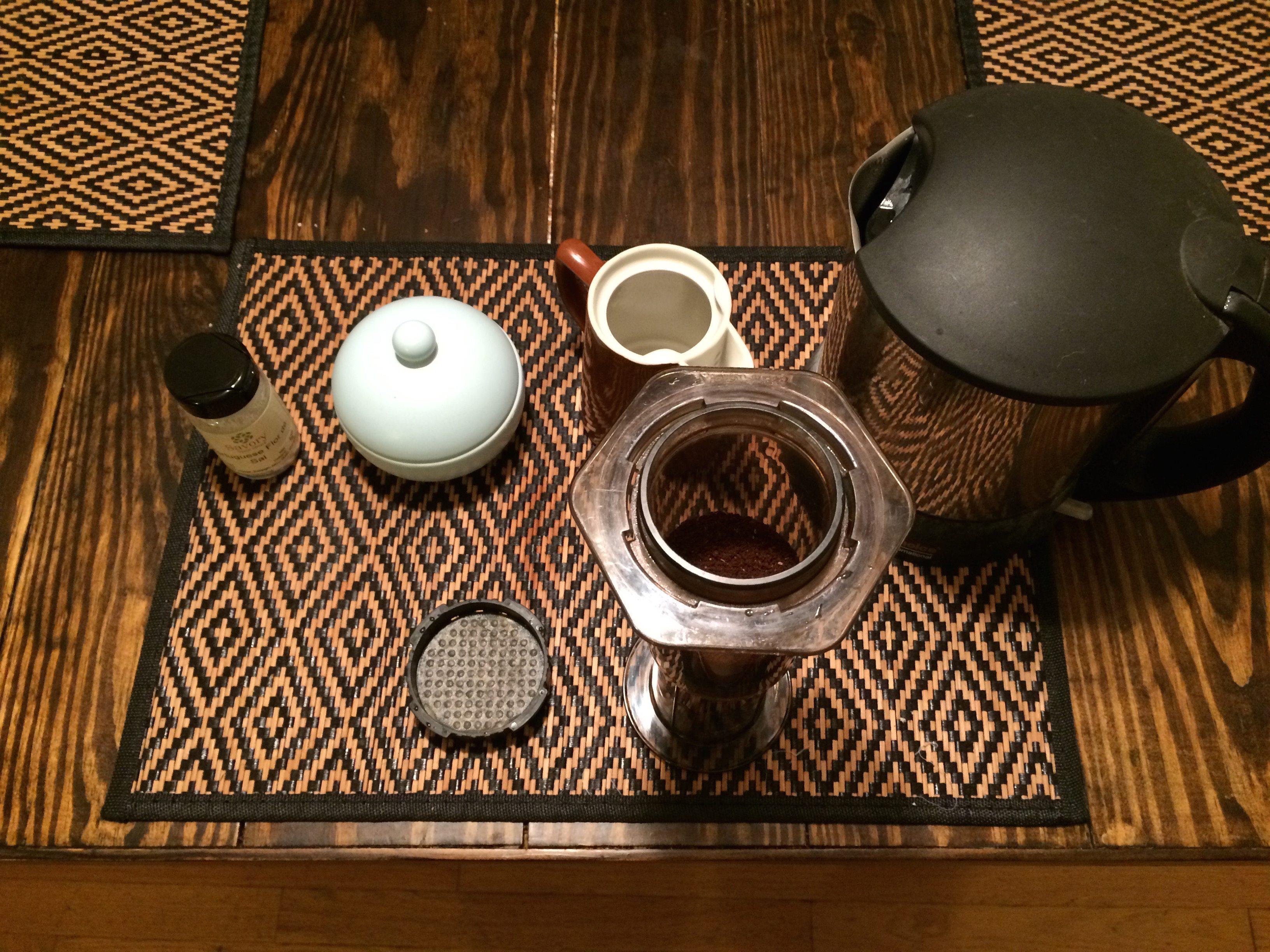 Coffee paraphernalia