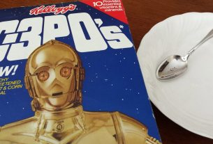 'Star Wars' C-3PO cereal