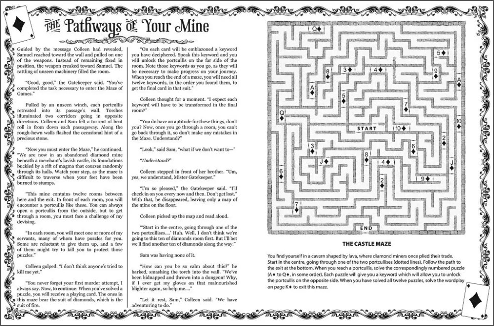 Selected page from The Maze of Games