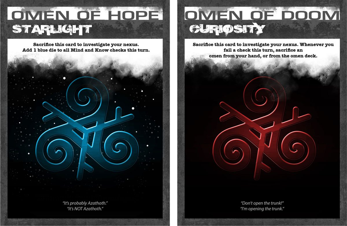 Apocrypha omen cards