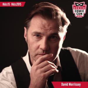 David Morrissey, image courtesy Denver Comic Con