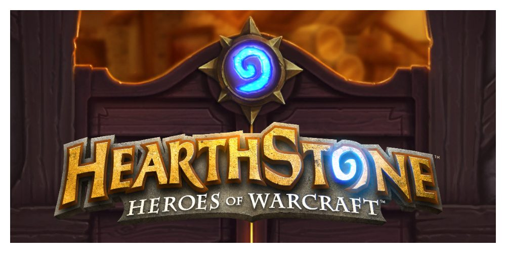 Title screen from Hearthstone.