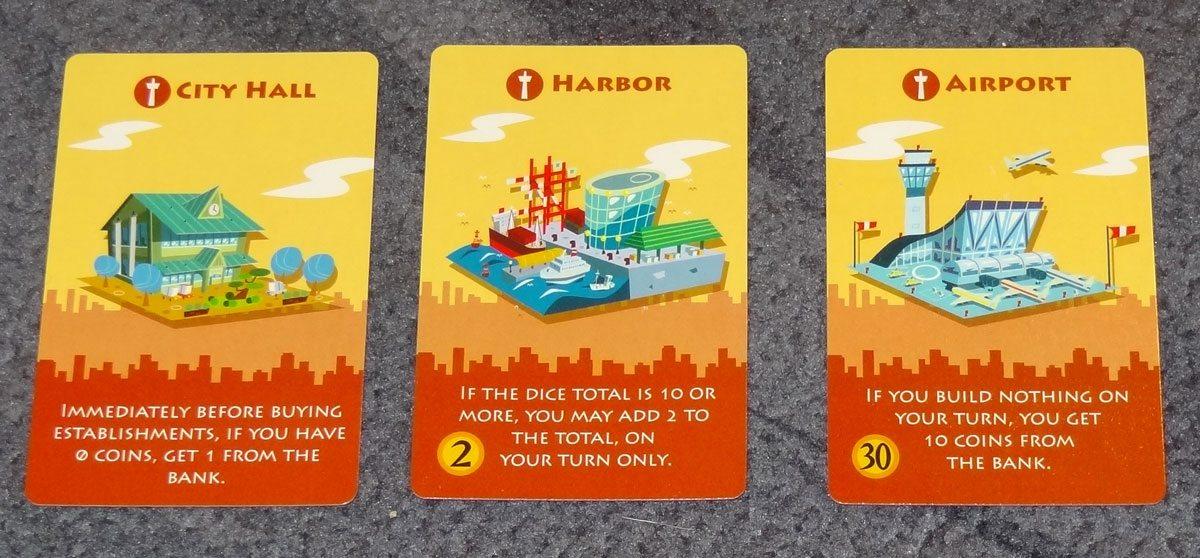 Machi Koro Harbor - Landmarks