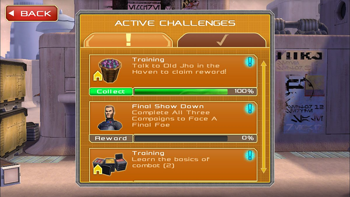 SWR-challenges