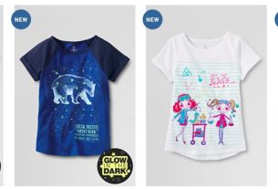 Has Lands' End joined the 21st century with a collection of smart shirts for girls too.