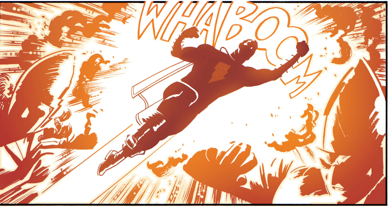 This panel is everything right about comics. EVERYTHING. Copyright: DC Comics.