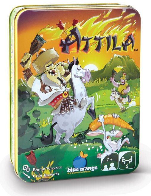 Bruno Faidutti Game Designer for Attila