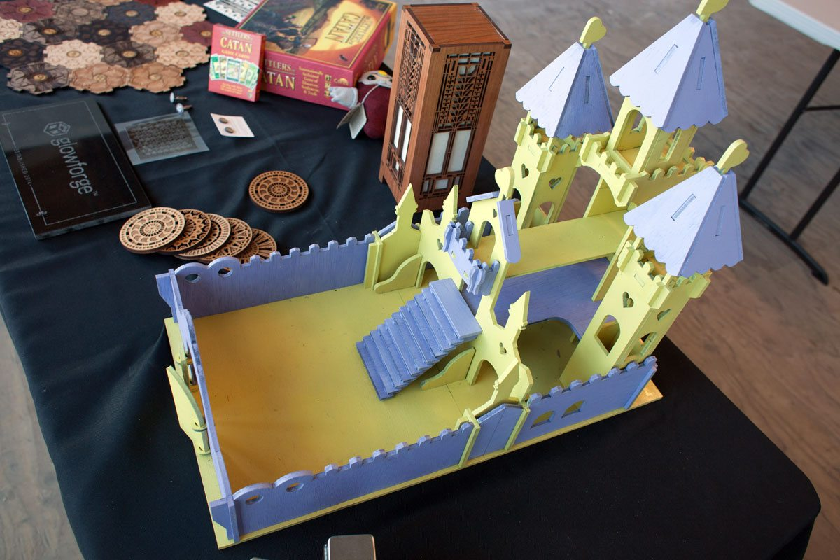 Glowforge castle