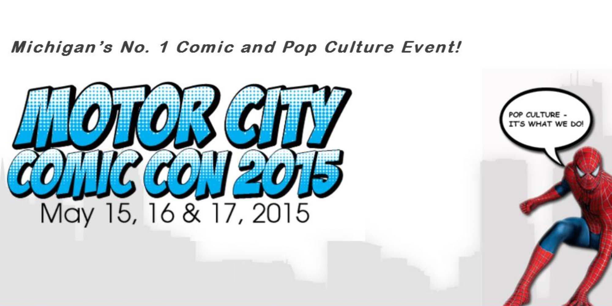 Motor City Comic Con Preview