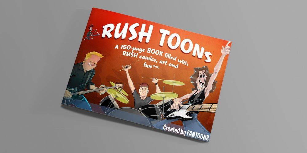 Kickstarter Alert: Rush Gets the Fantoons Treatment in a Book of Comics and Art