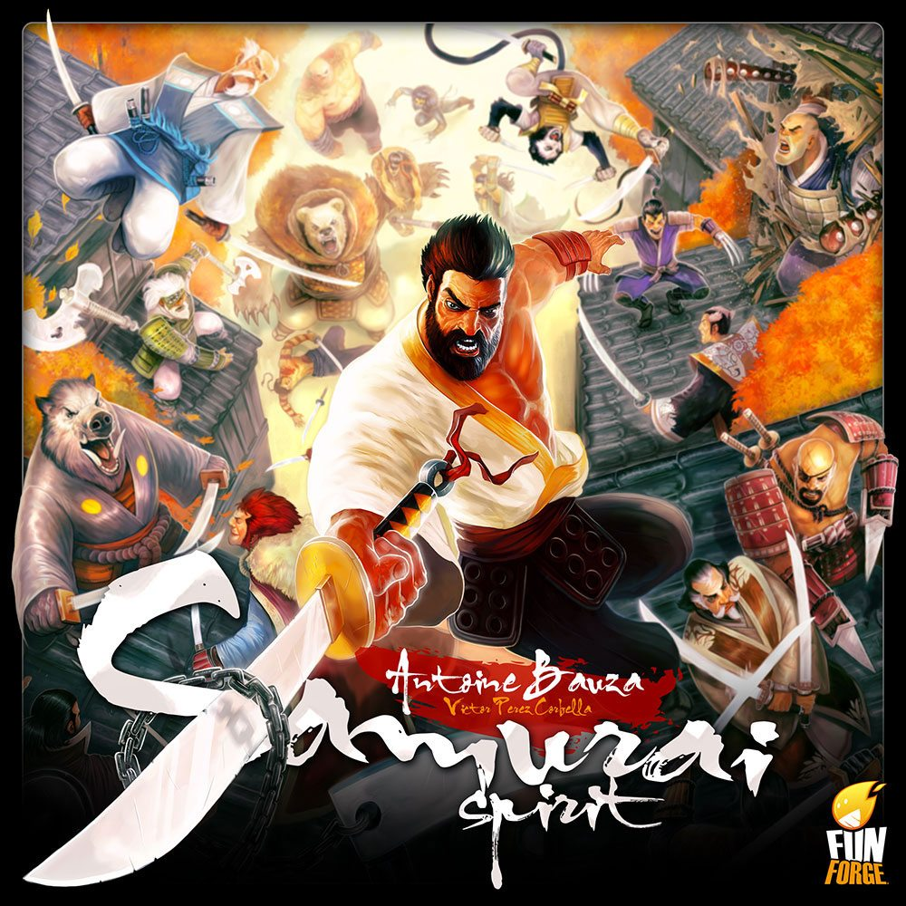 Samurai Spirit cover