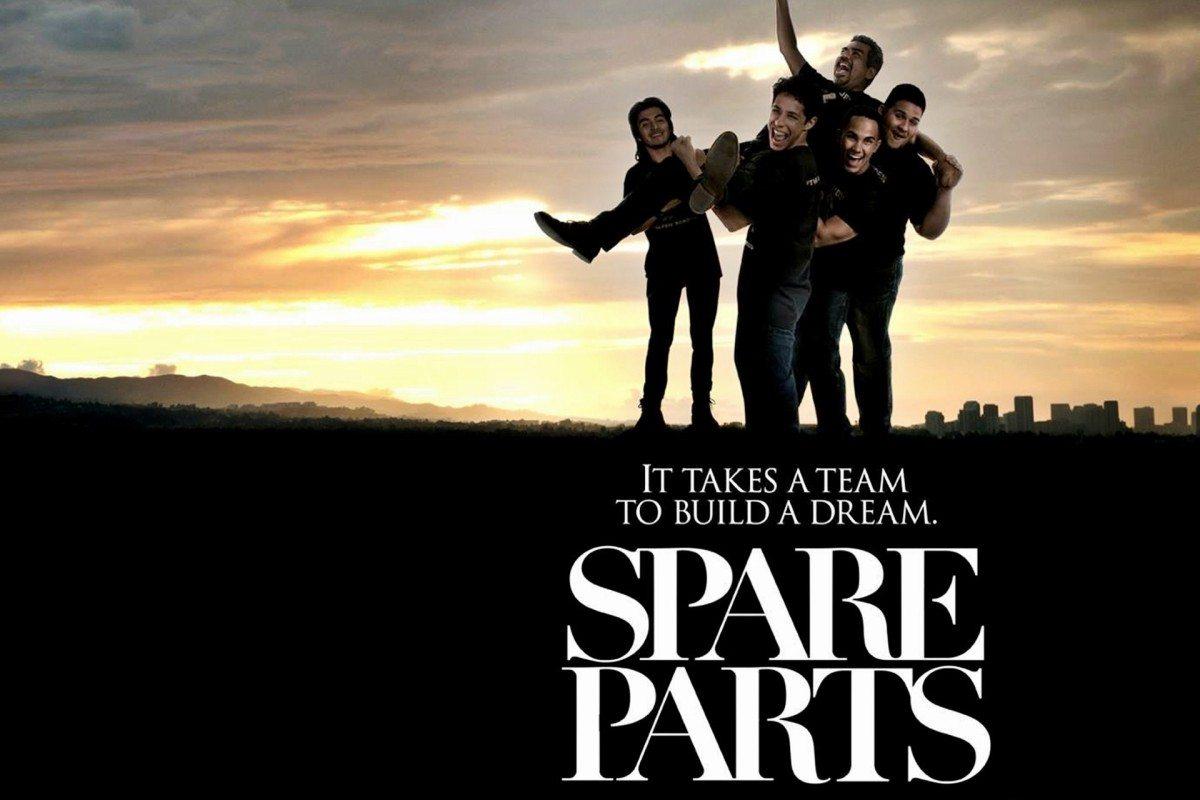 Bilderesultat for spare parts movie