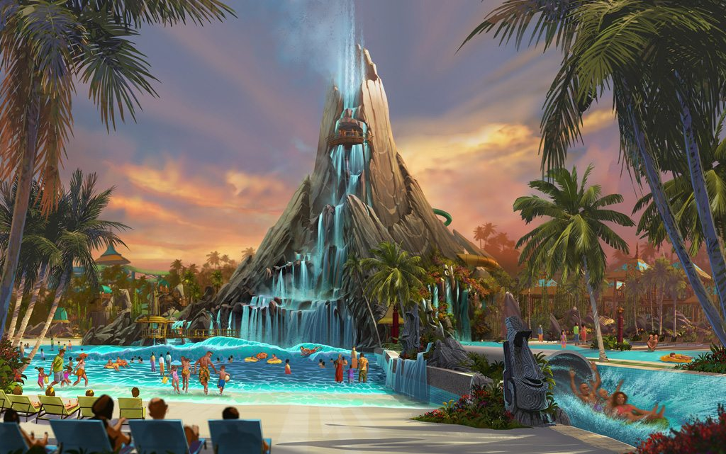 "Universal Orlando Resort Is Building Volcano Bay, World's First ""Water Theme Park"""