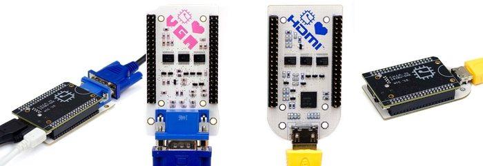 CHIP VGA and HDMI adaptors