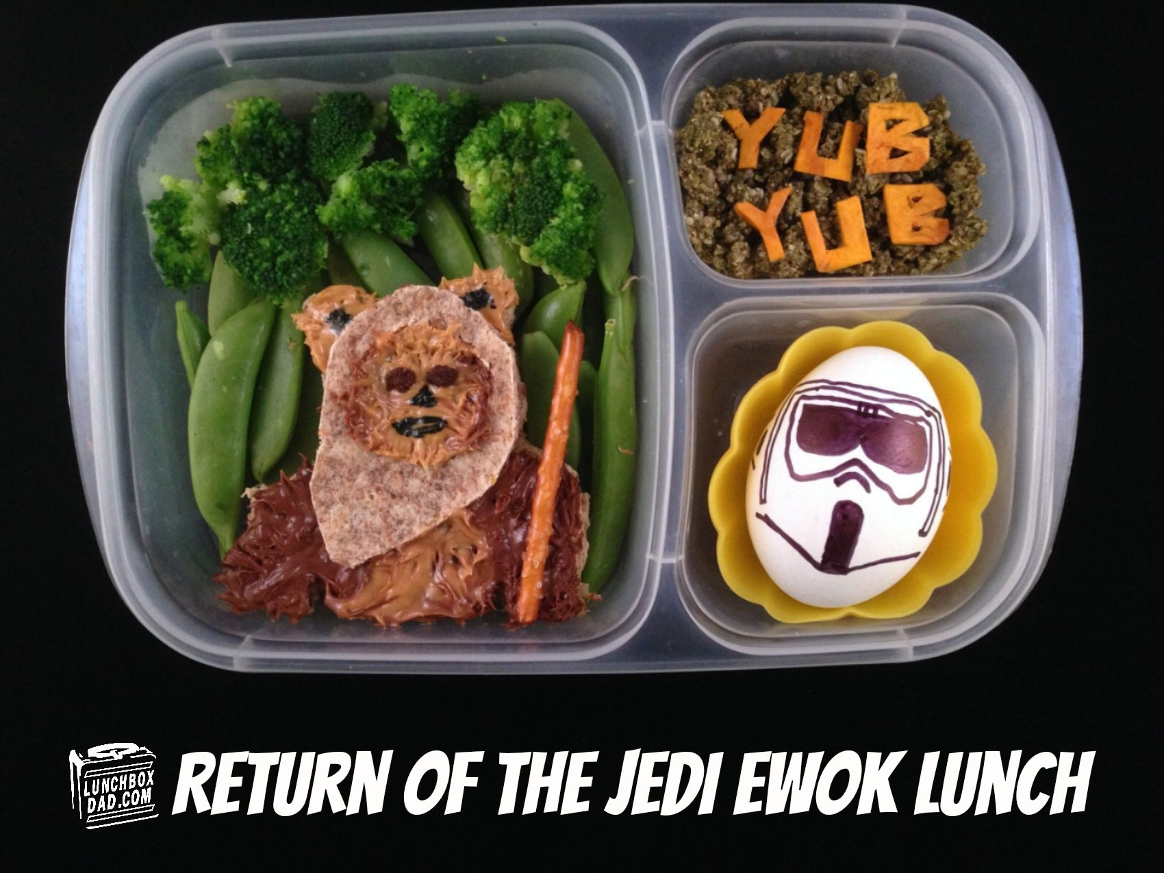 Guest Post: Lunchbox Dad Shows How to Create an Ewok Lunch for Your Kids