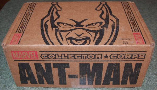 Marvel Collectors Corps Unboxing - Box 2: 'Ant-Man' - GeekDad