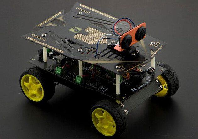 GeekDad Daily Deals: Cherokey 4WD Basic Arduino Robotics Kit