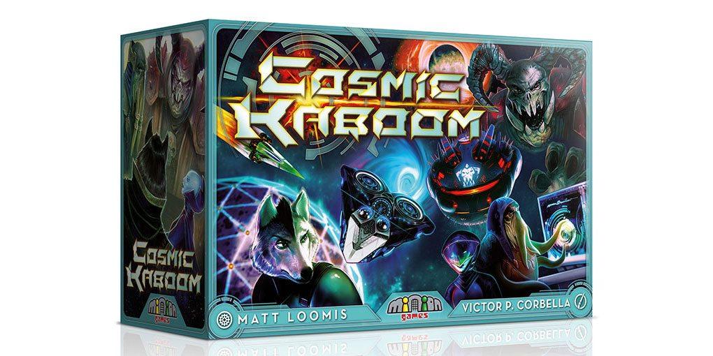 Kickstarter Tabletop Alert: 'Cosmic Kaboom' Relaunched