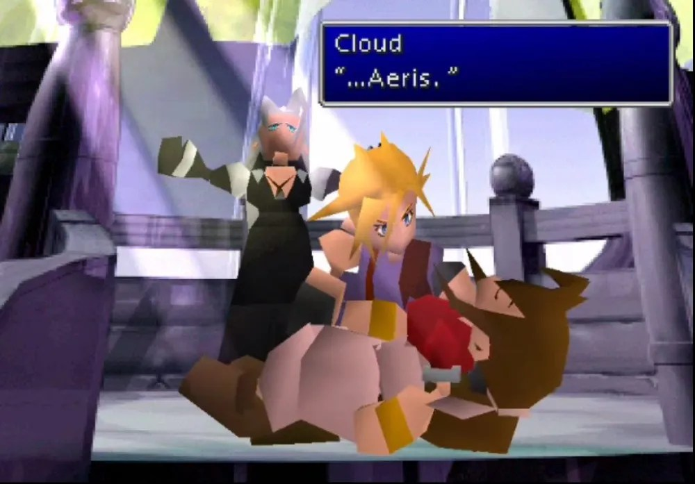 Final Fantasy VII - Aerith's Death Scene