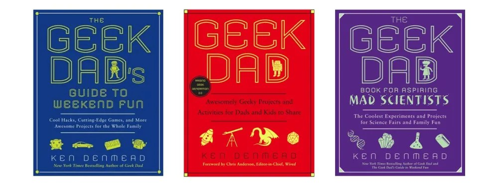 Geek Dad 3 Books