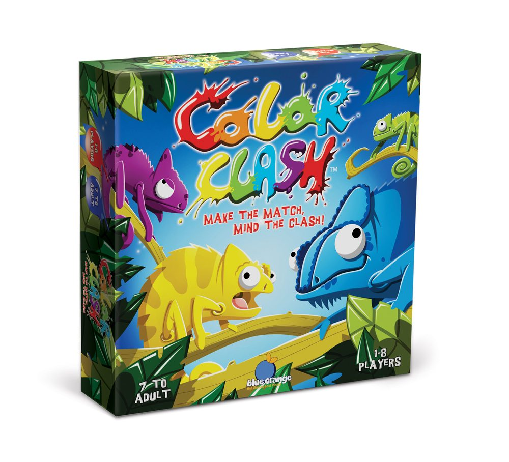 Color Clash Game Box from Blue Orange Games